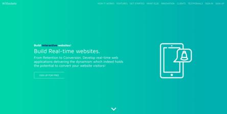 An API tool to create the website